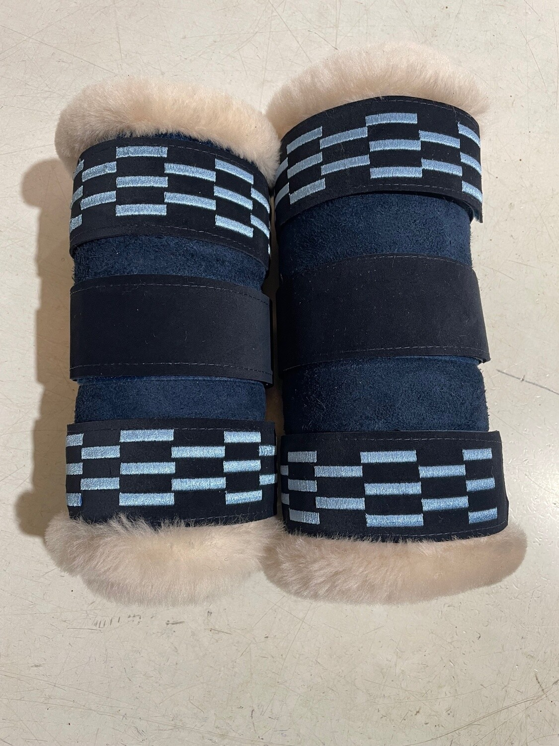 Sheepskin Show Embroidered Boots (Full)