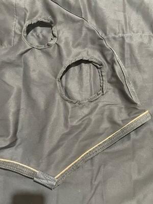 Paddock hood - Cob, zipper