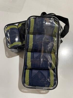 Bandages, Set of 4 -Navy