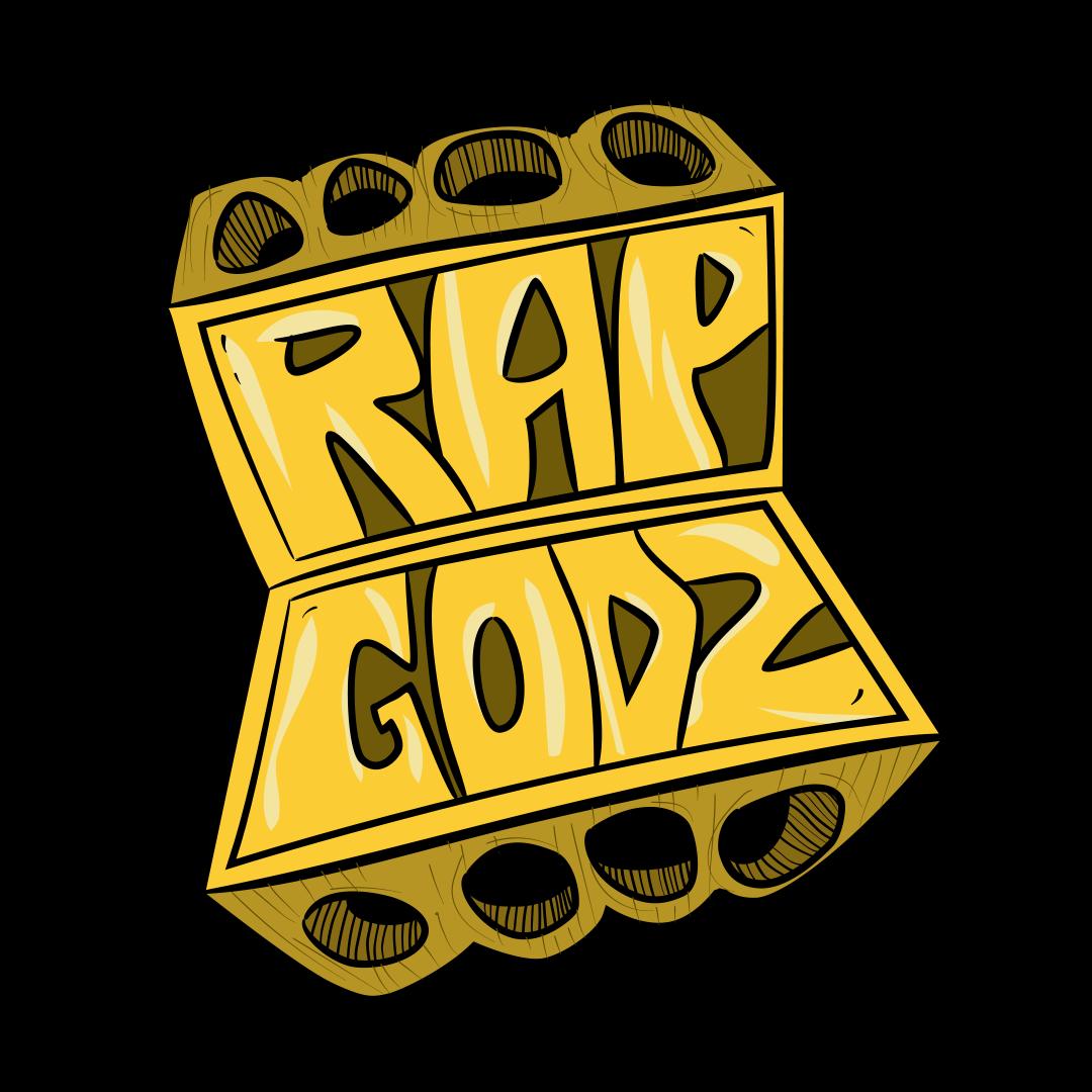 Rap Godz Logo Sticker