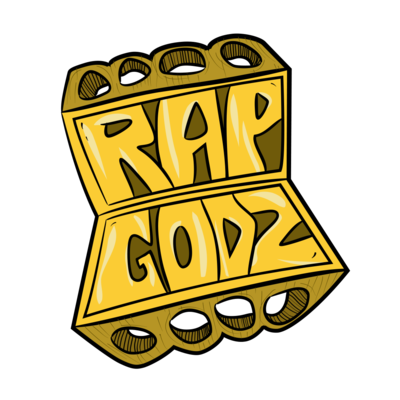 Rap Godz Logo Sticker