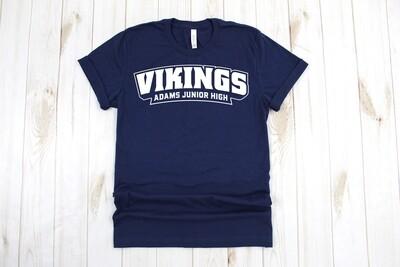 Navy Vikings Shirt (DISCOUNTED)
