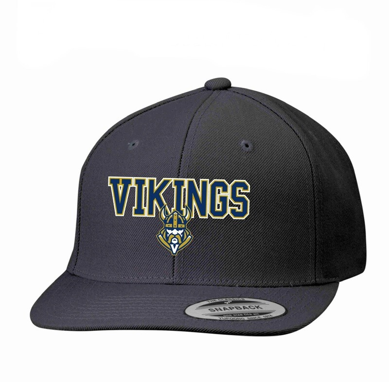 Vikings Flat Bill Snapback Cap