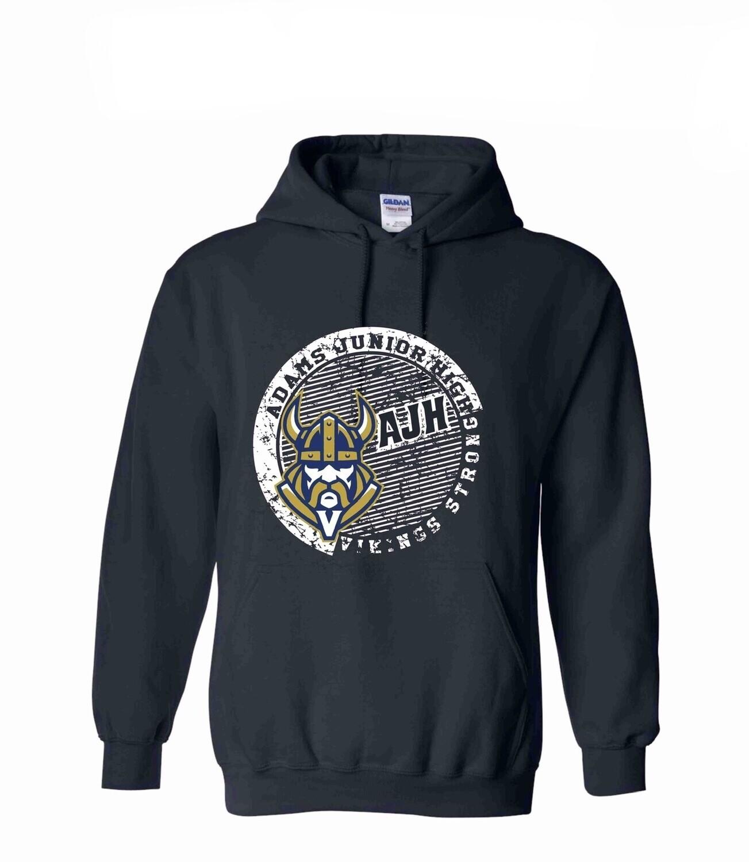 Vikings Strong Navy Pullover Hoodie