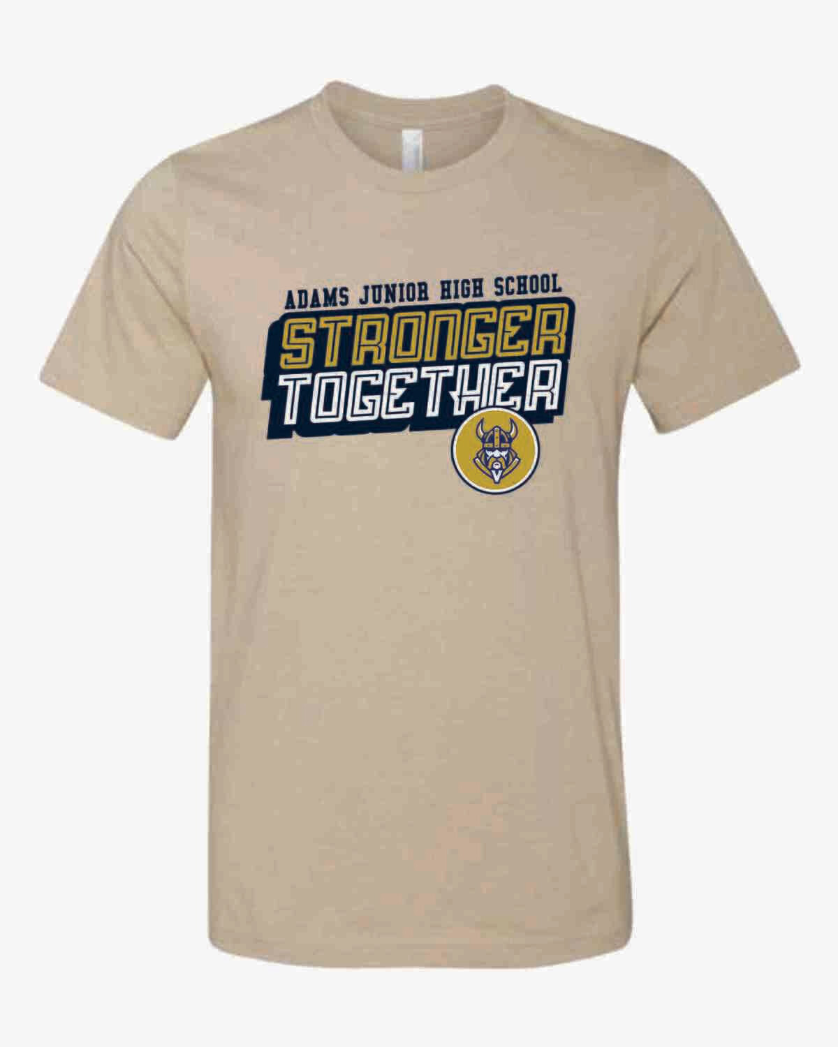 Stronger Together T-shirt - Heather Tan