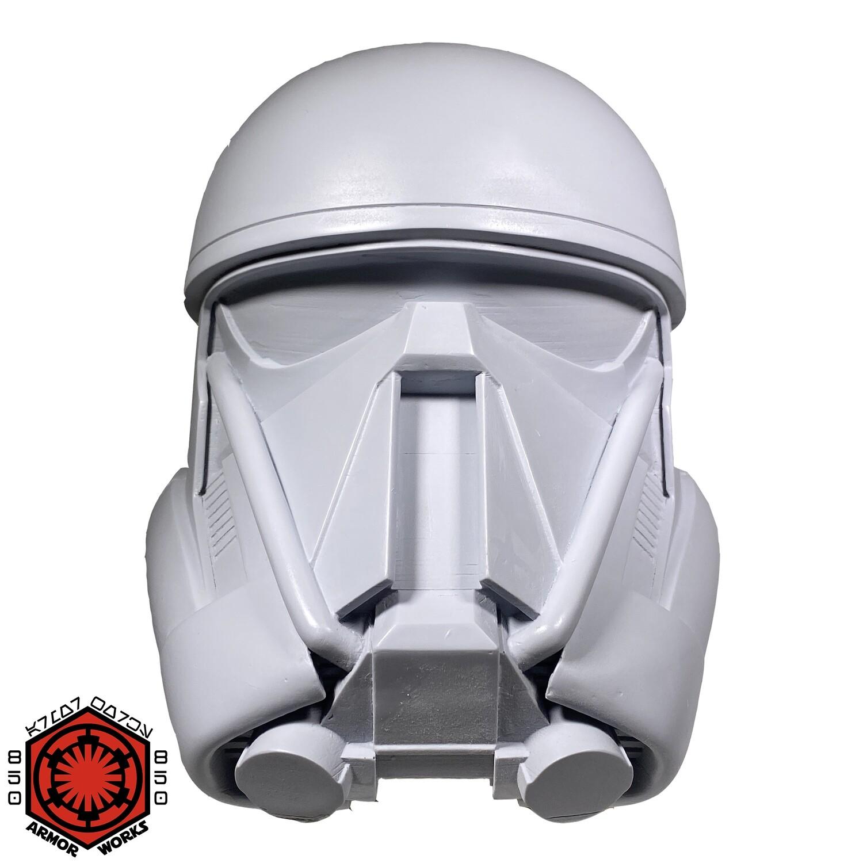 WHITE ABS SALE Death Trooper Helmet