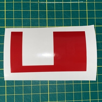 Tank Driver Chest Decal