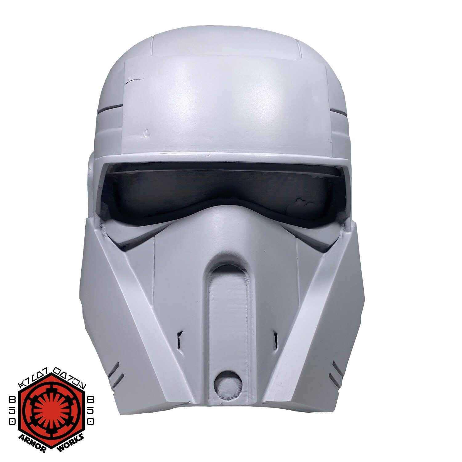 WHITE ABS SALE Shoretrooper ACT Driver Helmet Kit Rotocast Resin