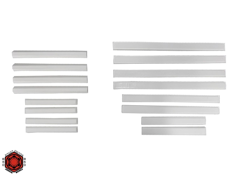 R1Tk Cover Strips Set