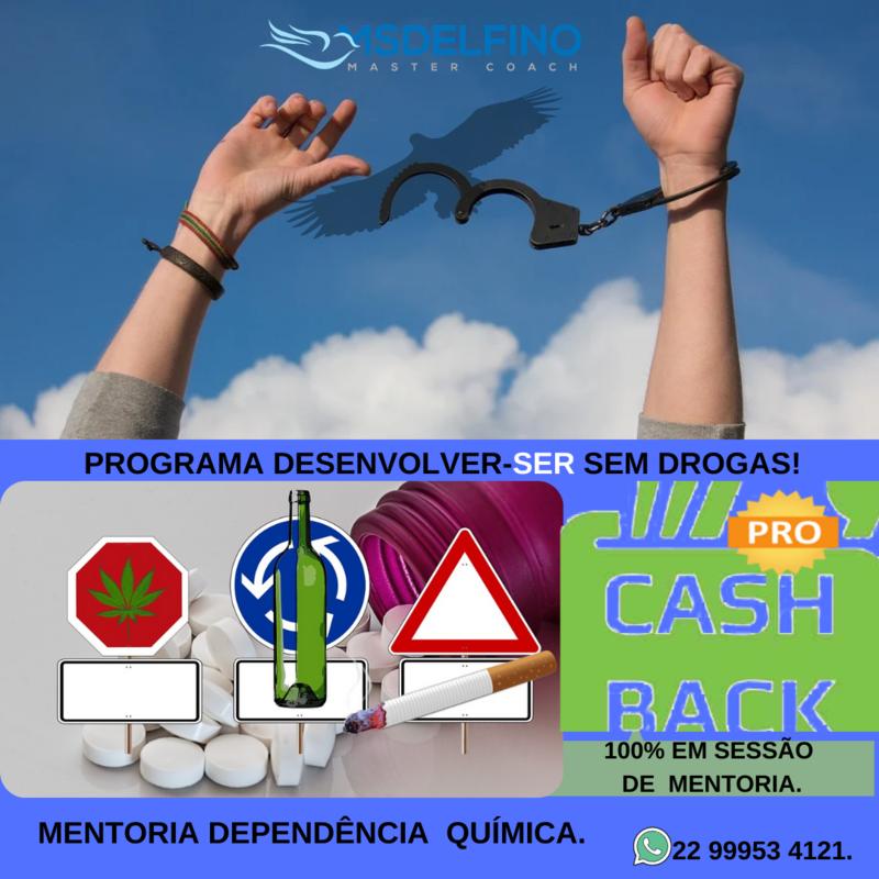 MENTORIA DEPENDÊNCIA QUÍMICA + ANÁLISE MAPEAMENTO DO PERFIL COMPORTAMENTAL DISC - CASHBACK.