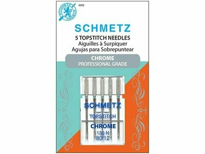 TOP STITCH NEEDLES (80/20 x 5 PC ) | Schmetz