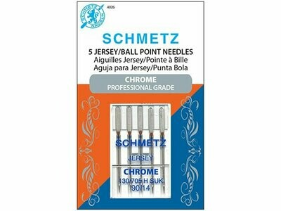 JERSEY/BALL POINT NEEDLES (130/705 H SUK CF 90/14 x 5 PC)  | Schmetz