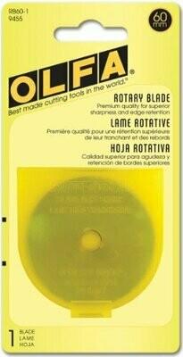 ROTARY BLADES ( 60MM X 1) | Olfa