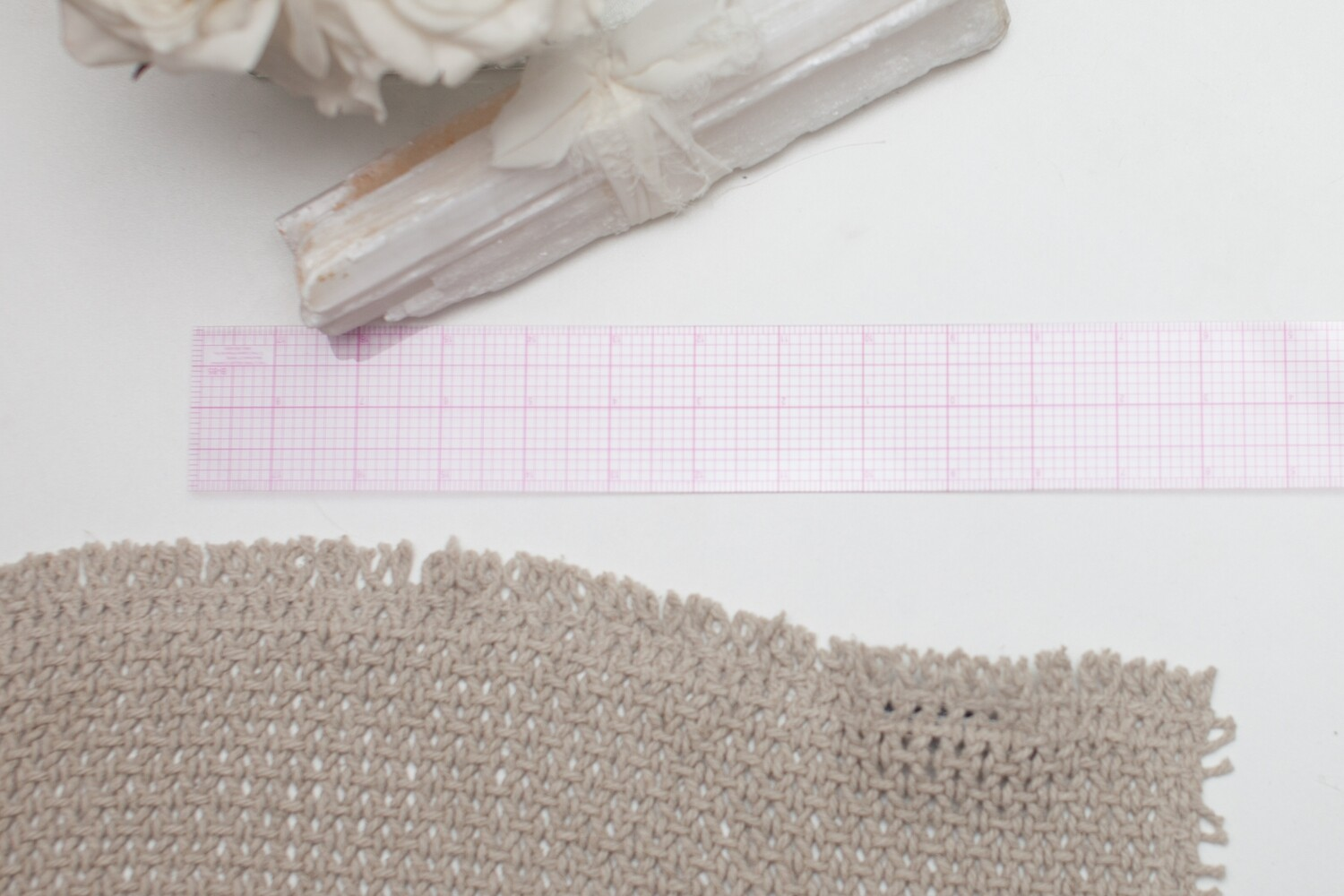 CLEAR GRAPH RULER 18"