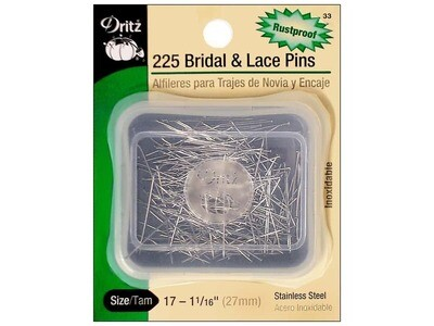 BRIDAL & LACE PINS (225 PC) | Dritz