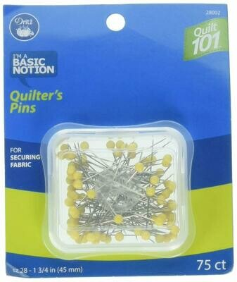 QUILTER'S PINS (75 PC) | Dritz