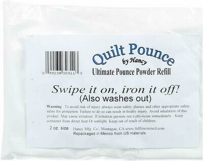 QUILT POUNCE POWDER REFILL (2 oz) | Hancy Creations