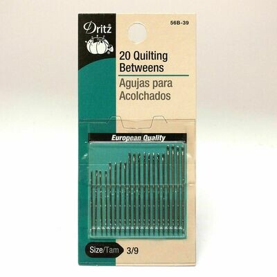 QUILTING BETWEEN NEEDLES ( 20 PC ) | Dritz