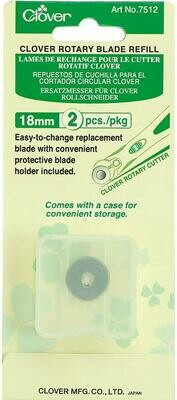 ROTARY BLADE REFILL (18 MM x 2 PC)  | Clover