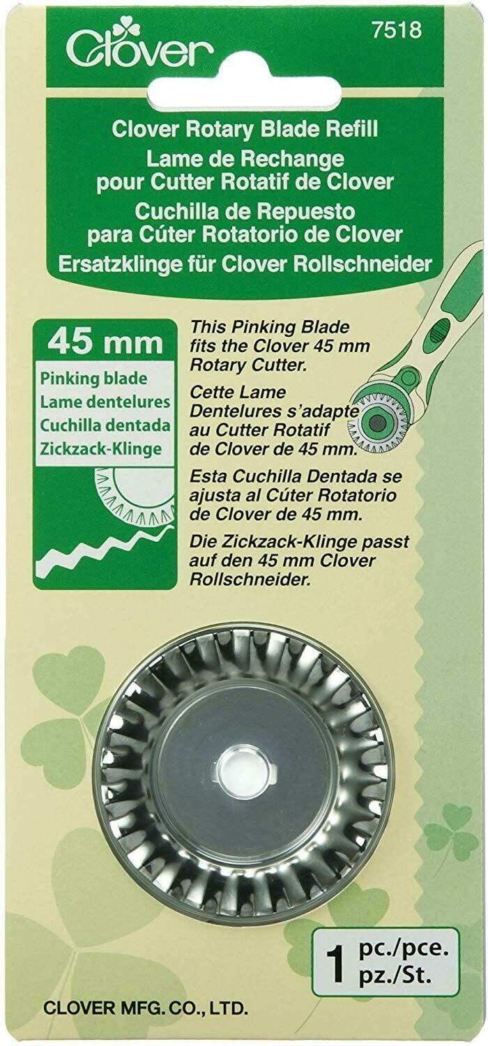ROTARY PINKING BLADE REFILL (45 MM / 1 PC) | Clover