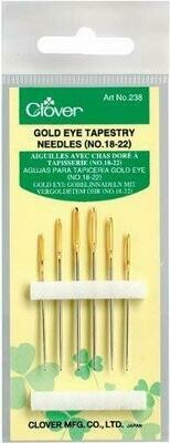 GOLD EYE TAPESTRY NEEDLES (6 PC) | Clover