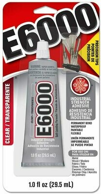 INDUSTRIAL STRENGTH ADHESIVE (4 TIPS) | E6000