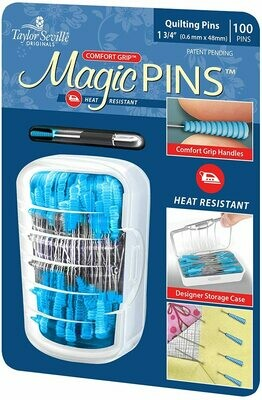 MAGIC PINS - QUILTING PINS (100 PC) | Taylor Seville