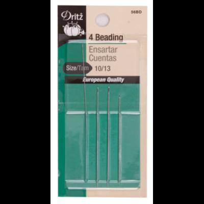 4 BEADING NEEDLES ( 10/13 Size, 4 PCs) | Dritz