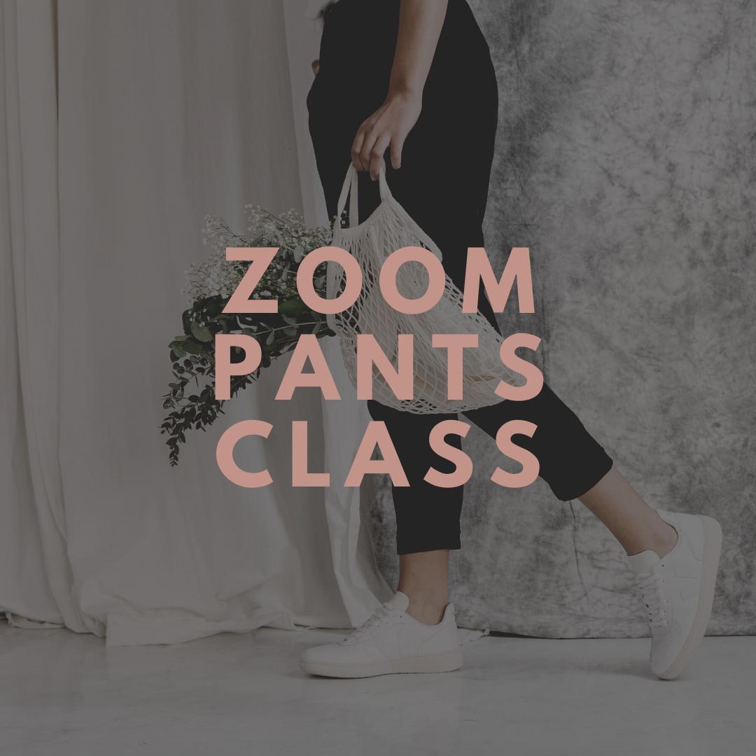 Zoom Class + Pants Kit ($59 + $89)