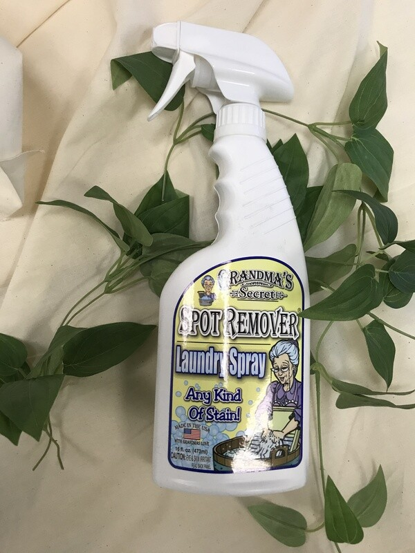 GRANDMA'S SECRET LAUNDRY SPRAY (16 FL OZ) | Grandma's Secret