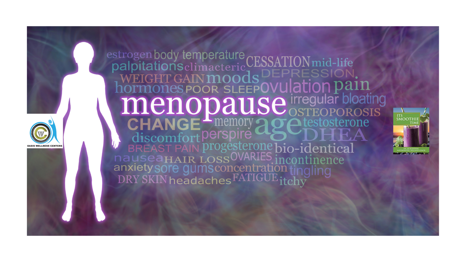 Control Menopausal Insomnia with Herbs Coaching - Consultation (Bonus ** ITS SMOOTHIE TIME **Autographed Book Included)
