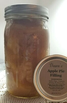 Dawn's Apple Pie Filling