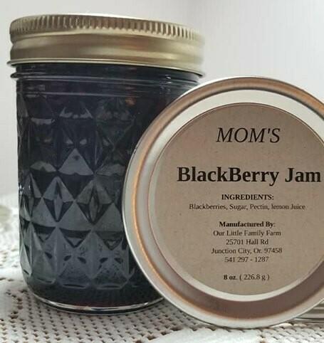 Sister's Blackberry Jam