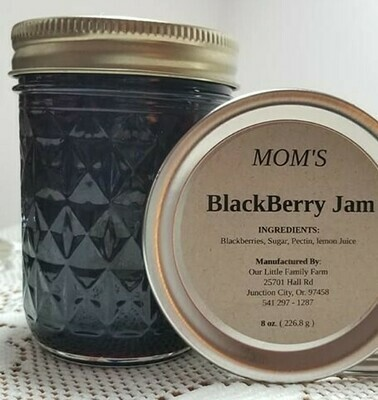 Sister's Blackberry Jam