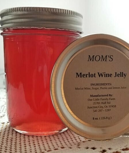 Mom's Merlot Wine Jelly