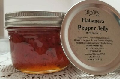 Habernera Pepper Jelly