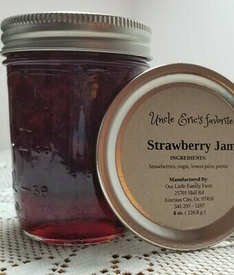 Uncle Eric's Favorite Strawberry Jam