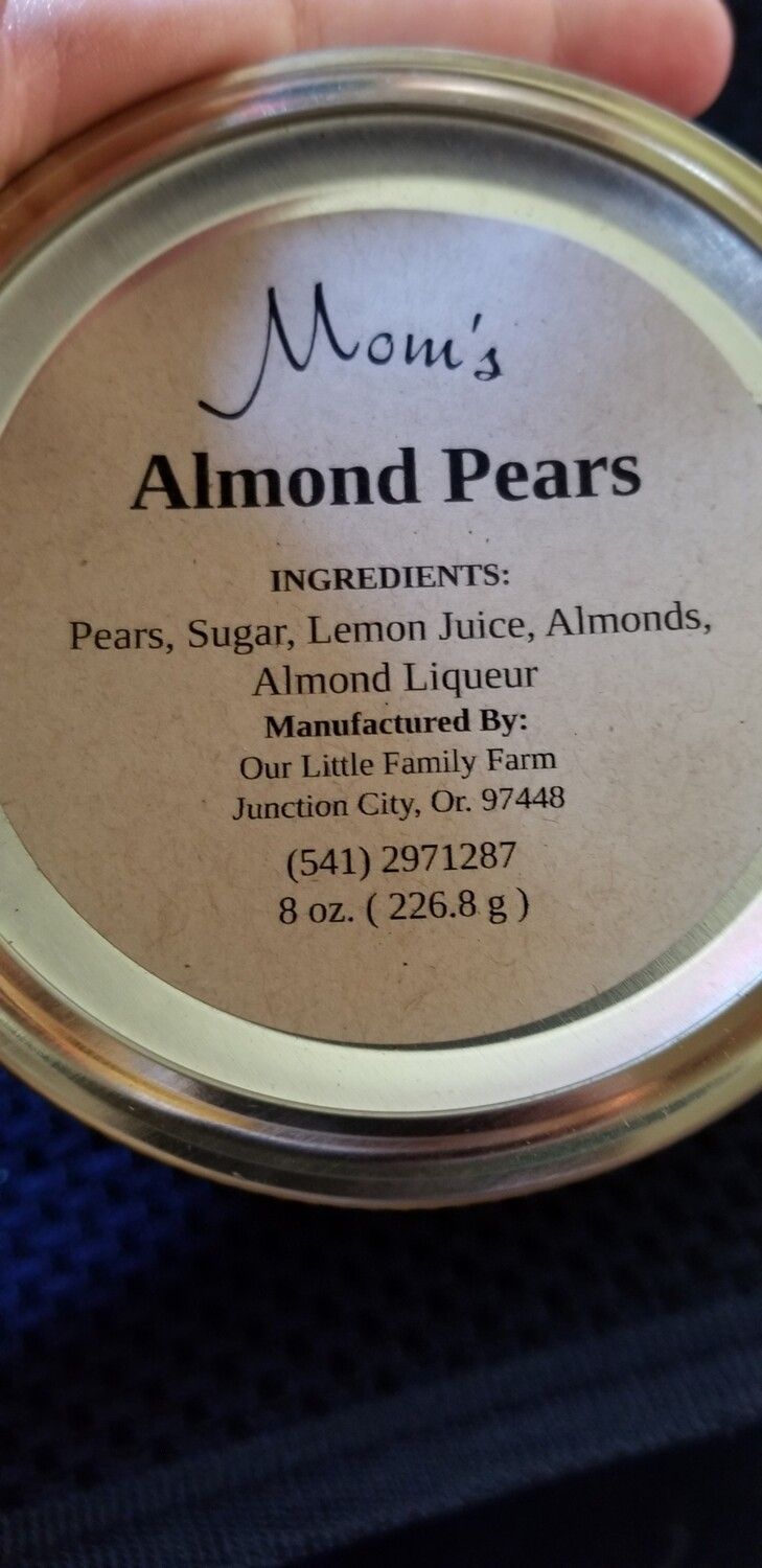 Mom's Almond Pears