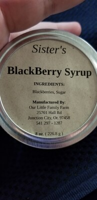 Sister's BlackBerry Syrup