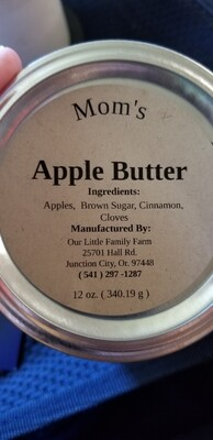 Mom's Apple Butter