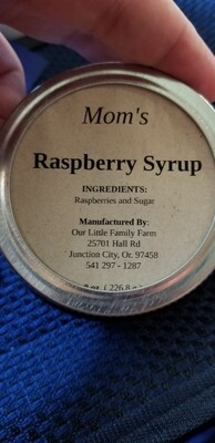 Mom's Raspberry Syrup