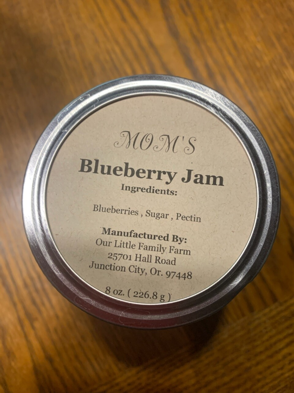 Mom's Blueberry Jam