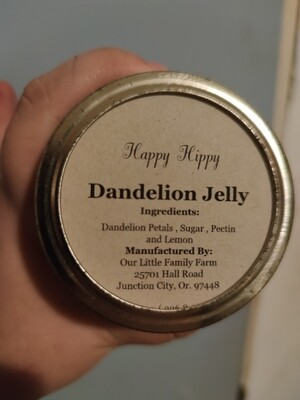 Happy Hippy Dandelion Jelly