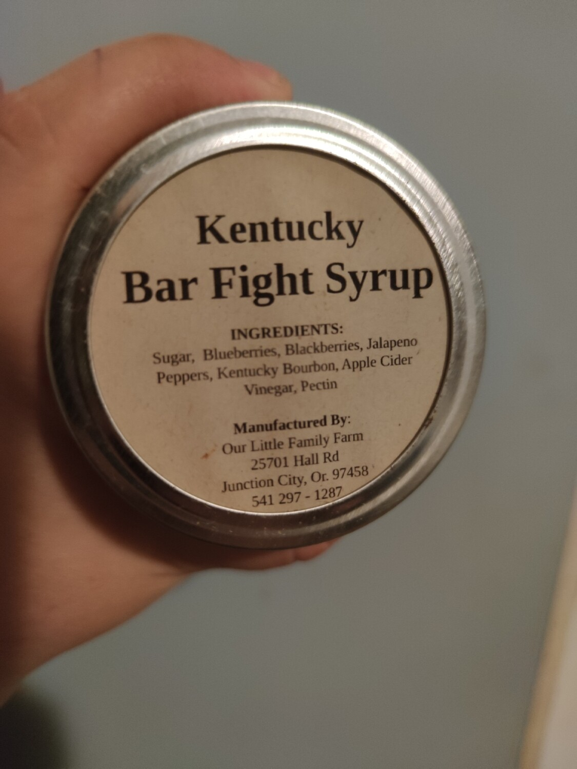 Kentucky Bar Fight Syrup