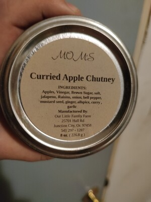 Mom's Curried Apple Chutney