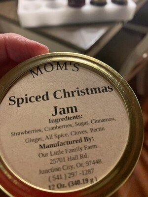 Mom's Spiced Christmas Jam