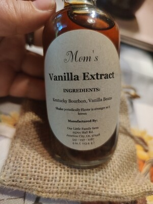 Mom's Vanilla Extract (Bourbon)