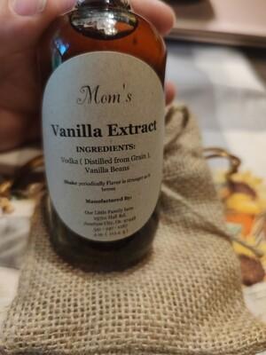 Mom's Vanilla Extract (vodka)