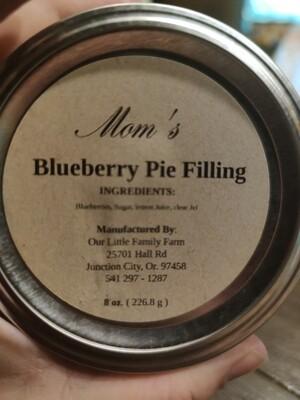 Mom's Blueberry Pie Filling