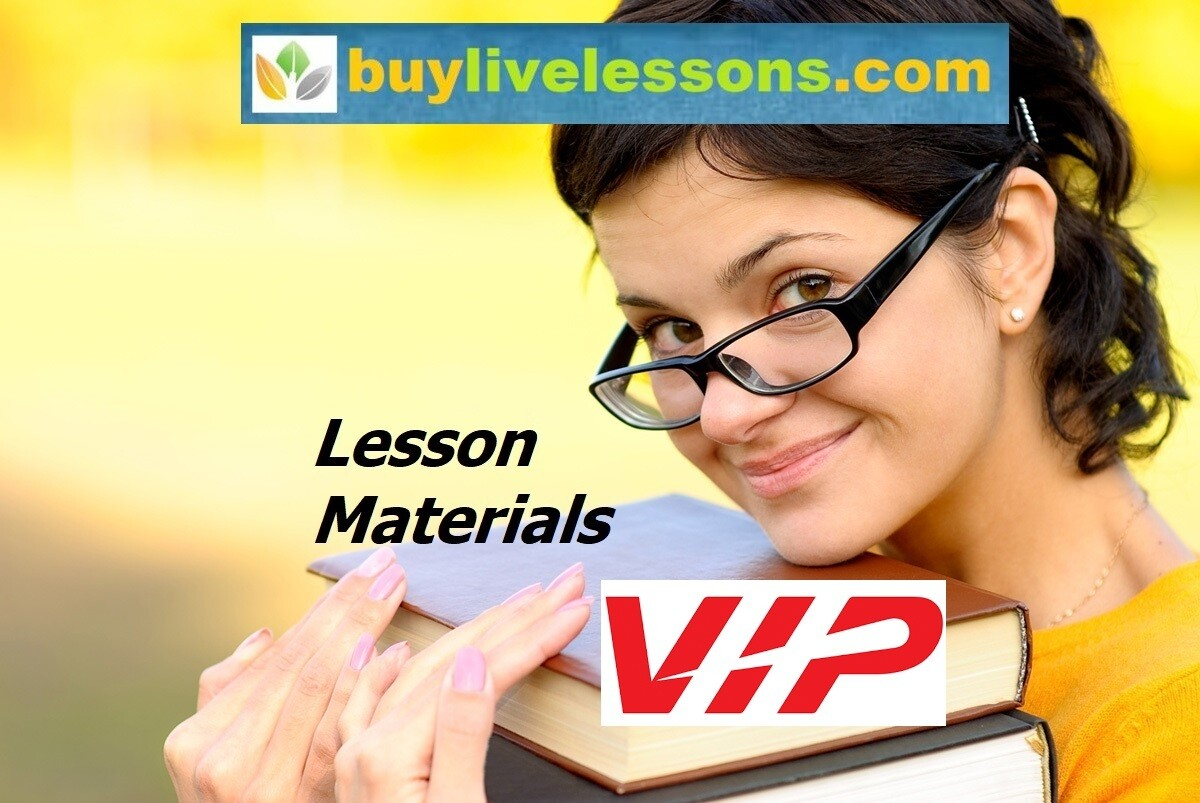 BUY BRONZE LESSON MATERIALS, UP TO 200 PAGES